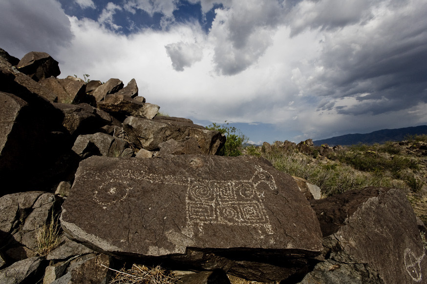 Nick Zantop - Three Rivers Petroglyph Site, New Mexico