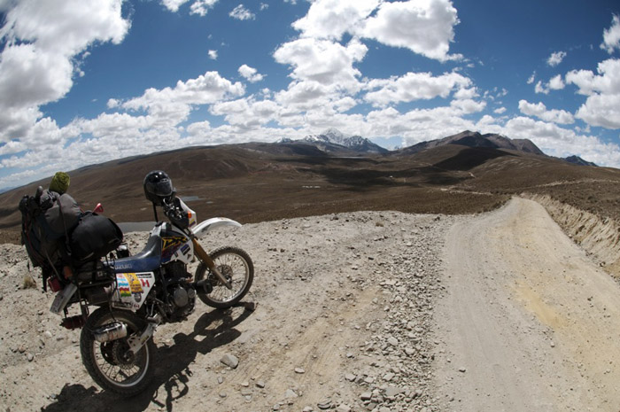 Traveling in Bolivia by motorcycle - www.letsbewild.com - Photo by Alain Denis