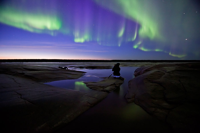 www.letsbewild.com - Aurora Borealis, Northern Lights - Photo by Thomas Koidhis