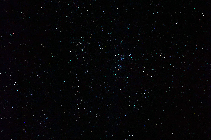 www.letsbewild.com - Double Open Cluster - Photo by Thomas Koidhis