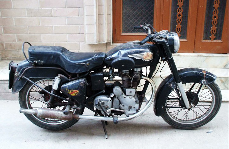 India on an Enfield - Kenneth Maginnity charity motorcycle adventure through India on a 1965 Royal Enfield Bullet