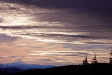 Photo of the Day - www.letsbewild.com - Mount Jefferson Sunset, Oregon - Katie Paulson