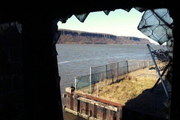 Photo of the Day - www.letsbewild.com - Window on the Palisades - Glenwood Power Station, Yonkers, New York - Brian Eha