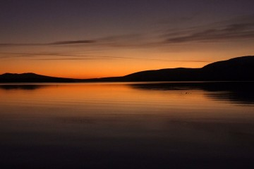 Photo of the Day - www.letsbewild.com - Loch Lomond Sunset, Scotland - Poul Brix