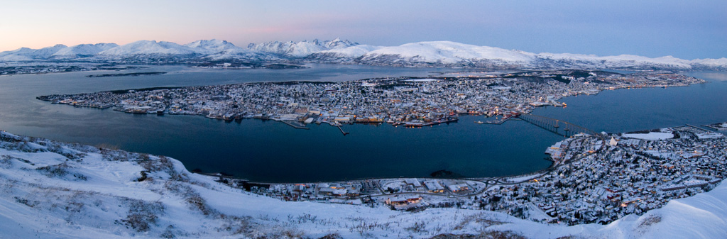 Adventure Travel Photo of the Day - www.letsbewild.com - Tromso Norway, Arctic Landscape - Natalia Robba