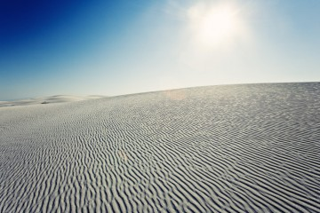 Photo of the Day - www.letsbewild.com - Sea of Sand (White Sands National Monument)