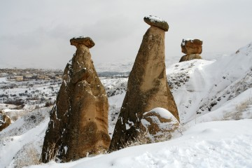 Photo of the Day - www.letsbewild.com - Three Sisters: Cappadocia, Turkey -