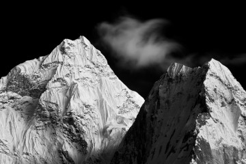 Adventure Travel Photo of the Day - www.letsbewild.com - Enchanted Peaks, Ama Dablam, Khumbu, Nepal - Paul Zizka