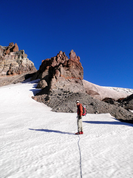 Gerdine Glacier Climbing, Glacier Peak Wilderness, Washington