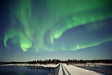 Adventure Travel Photo of the Day - www.letsbewild.com - Bridge of Light: Aurora Borealis - Natalia Robba