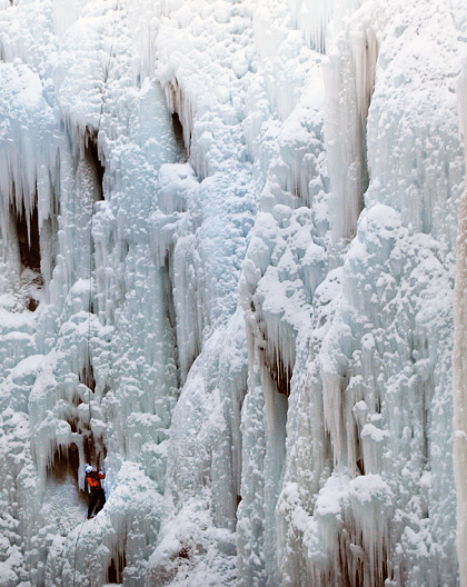 Adventure Travel - www.letsbewild.com - Ouray Ice Climbing - Katherine Zalan