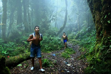 Adventure Travel Photo of the Day - www.letsbewild.com - The Walkers, Meratus Mountains, South Kalimantan, Indonesia - Photograph by Hary Muhammad