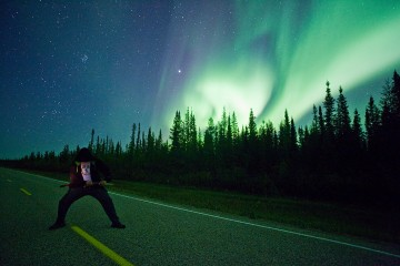 Adventure Travel Photo of the Day - www.letsbewild.com - Light Warriors, Fort Resolution, Northwest Territories, Canada - Karl Johnston