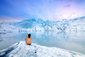 Adventure Travel Photo of the Day - www.letsbewild.com - Mouth of the Matanuska Glacier, Alaska, United States - Dhilung Kirat