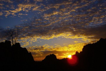 Adventure Travel Photo of the Day - www.letsbewild.com - Sunset Over Smith Rock, Smith Rock State Park, Terrebonne, Oregon, United States - Katie Paulson