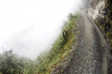www.Letsbewild.com - Adventure Travel and Photography Magazine - Bolivia's Road of Death - Alain Denis
