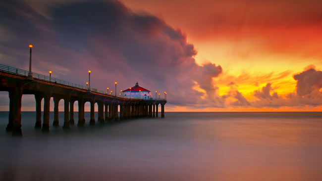 Manhattan Beach Wallpaper: Adventure Travel Photo Of The Day: Manhattan Beach, California