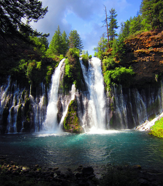 Adventure Travel Photo of the Day - www.letsbewild.com - The Blue Pool, McArthur-Burney Falls Memorial State Park, California, United States - Zach Applegate