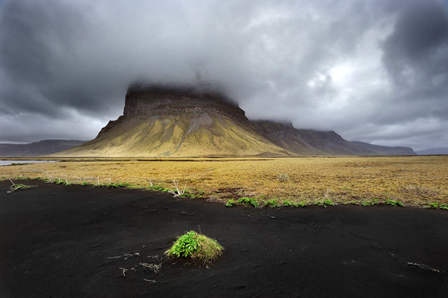 Adventure Travel Photo of the Day - www.letsbewild.com - Mt. Lómagnúpur, Skeiðarársandur, south coast of Iceland - Julien Boisard