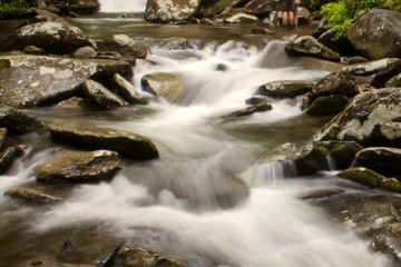 Adventure Travel Photo of the Day - www.letsbewild.com - Fly Fishing the Road Prong, Great Smoky Mountain National Park, Tennessee, United States - Trent Sizemore