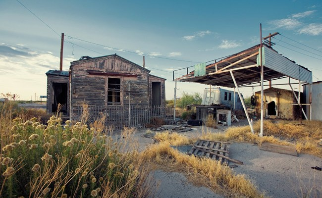 www.LetsBeWild.com - Adventure Travel: The Ghost Town of Orla, Texas - Nick Zantop