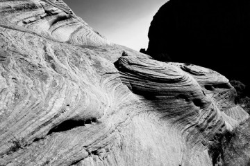 Adventure Travel Photo of the Day - www.letsbewild.com - Rippling Rocks, Canyon de Chelly National Monument, Arizona, United States - Nick Zantop