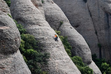 Adventure Travel Photo of the Day - www.letsbewild.com - El Gep Llarg, Montserrat Natural Park, Catalonia, Spain - Xavier Varela