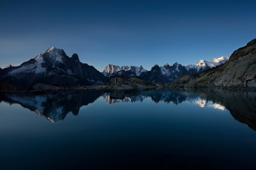 Adventure Travel Photo of the Day - www.letsbewild.com - Mountain Dawn, Lac Blanc, Chamonix, Rhône-Alpes, France - Shaun Walby