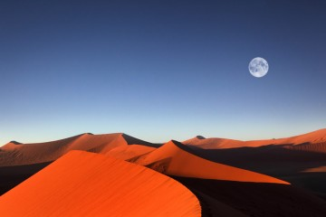Adventure Travel Photo of the Day - www.letsbewild.com - Sunrise, Dune 45, Sossusvlei, Namib Desert, Namib-Naukluft National Park, Namibia - Dietmar Temps