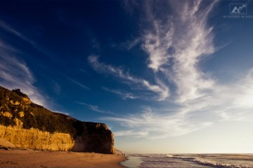 www.letsbewild.com - An Adventure Travel Magazine: Weekly Wallpaper - Sunset over San Gregorio State Beach
