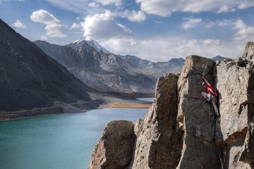 Adventure Travel Photo of the Day - www.letsbewild.com - New Routing in Southern Siberia, South Chuysky range, Altai Mountains, Siberia, Russia - Greg Annandale
