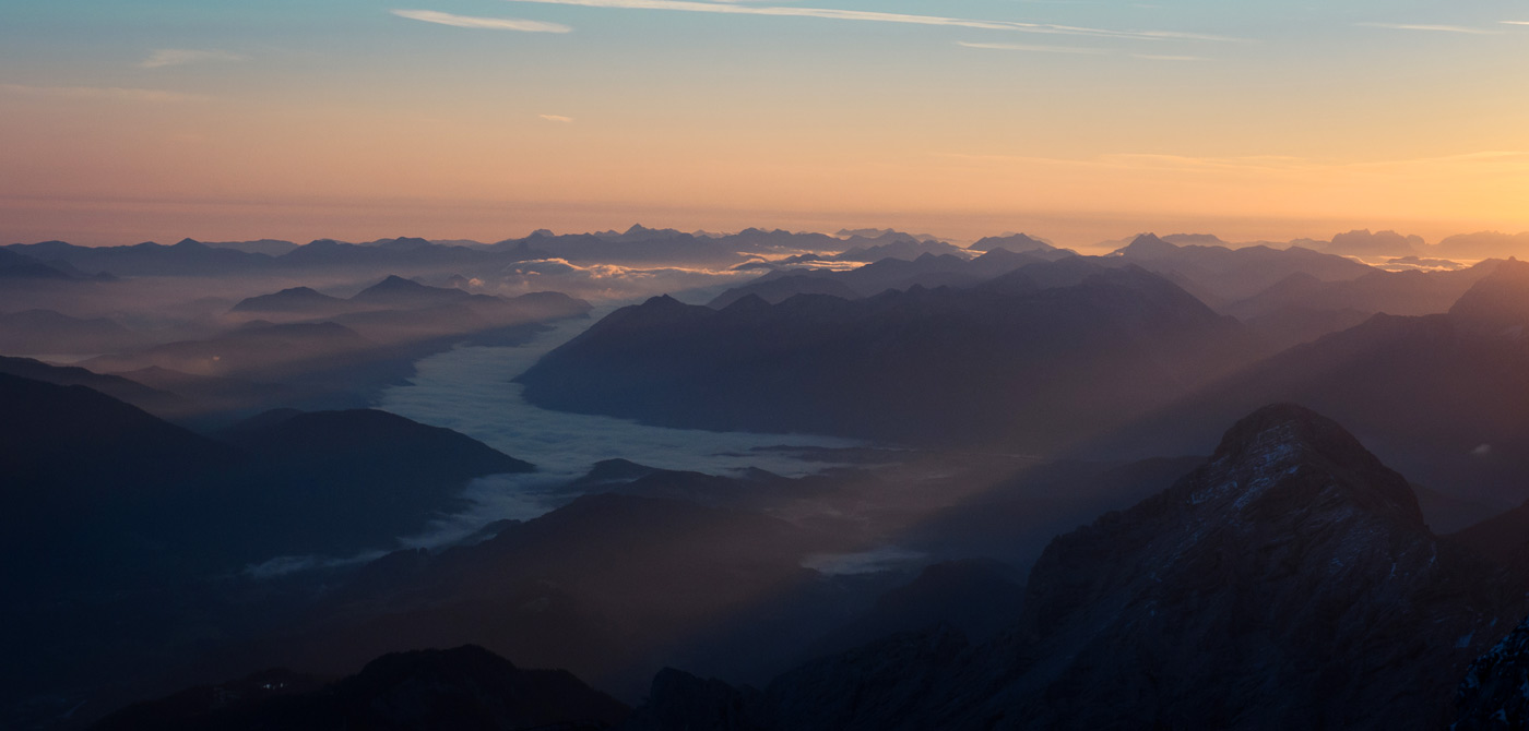 Adventure Travel Photo of the Day - www.letsbewild.com - The Top of Germany, Zugspitze, Wetterstein Mountains, Germany - Falk Fischer