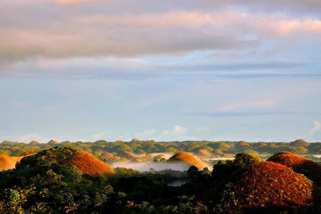 Adventure Travel Photo of the Day - www.letsbewild.com - Chocolate Hills, Bohol, Philippines - Luke Arcellana