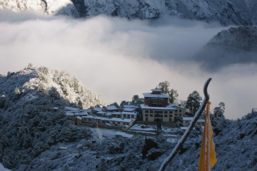 Adventure Travel Photo of the Day - www.letsbewild.com - Tengboche Monastery, Khumjung, Khumbu Valley, Nepal - Elena Pavlichenko
