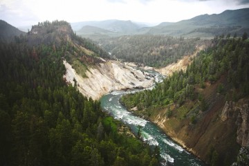 Adventure Travel Photo of the Day - www.letsbewild.com - Calcite Springs Overlook, Yellowstone National Park, Wyoming - Jonah Reenders
