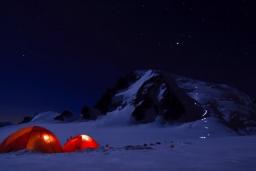 Adventure Travel Photo of the Day - www.letsbewild.com - Alpine Start, Chamonix-Mont-Blanc, Haute-Savoie, France - Ulrik Hasemann