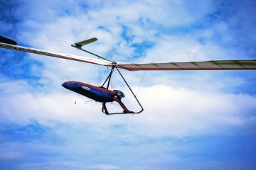 Adventure Travel Photo of the Day: Hang Gliding over Brazil