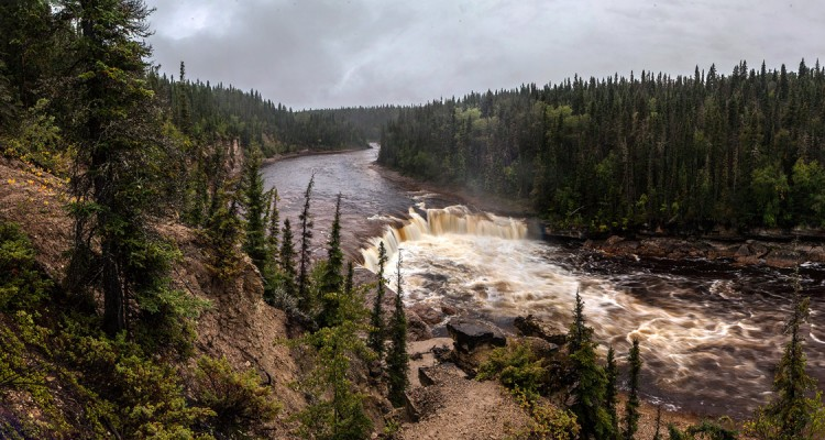 Adventure Travel Photo of the Day: Coral Falls in the Northwest Territories