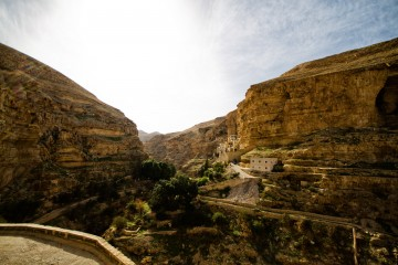 Adventure Travel Photo of the Day: St. George Monastery, Wadi Qelt