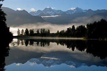 Adventure Travel Photo of the Day: Lake Matheson, New Zealand