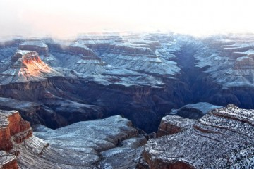 Winter Snow at the Grand Canyon