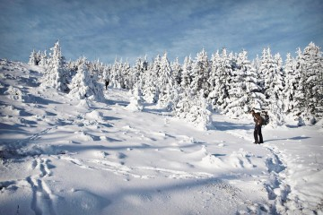 Adventure Travel Photo of the Day: Winter Hiking in Germany's Harz Mountains