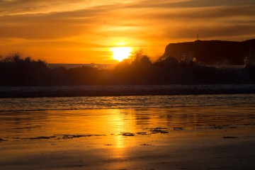 Photo of the Day: Coronado Beach Sunset