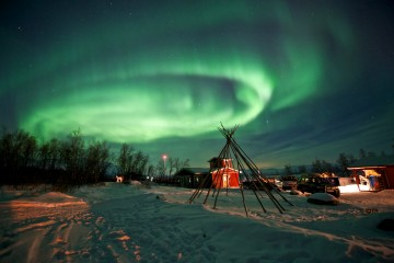 Photo of the Day: Aurora Borealis over Abisko, Sweden