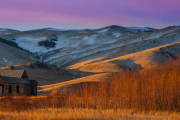 Photo of the Day: Montana Homestead