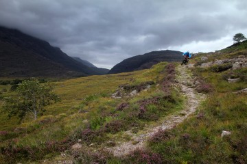 Photo of the Day: Mountain Biking in the Scottish Highlands