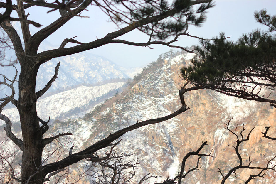 Climbing Seorak Mountain, South Korea