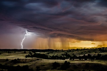 South Dakota Lightning Storm