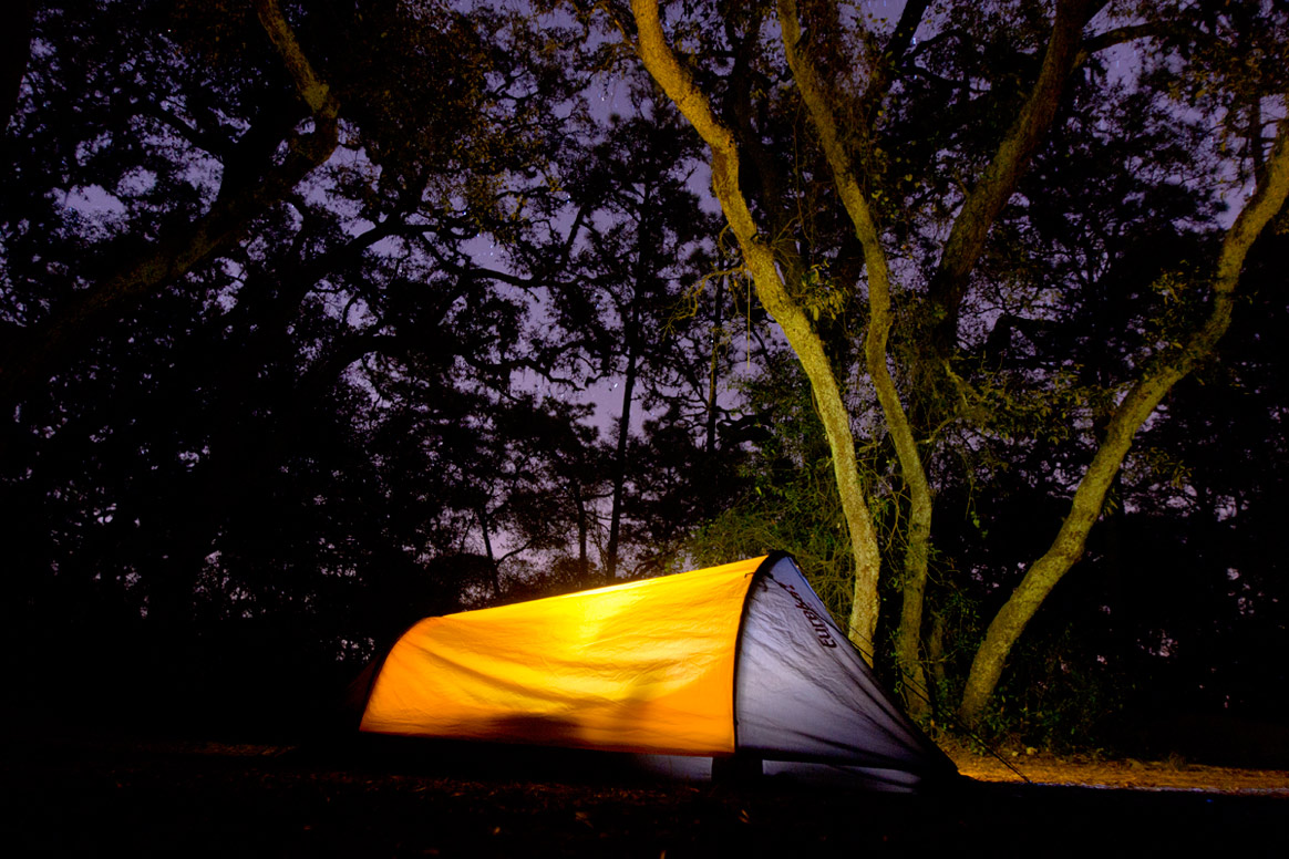 Tent Camping in Ocala